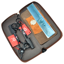Meisha 5.5/6 inch Left Handed Professional Hair Scissors Set Hairdressing Barber Tesouras Thinning Shears Cutting Tool HA0137 5 5inch 6 0inch meisha left handed cutting scissors thinning shears jp440c professional left hand barbers hair scissors ha0137