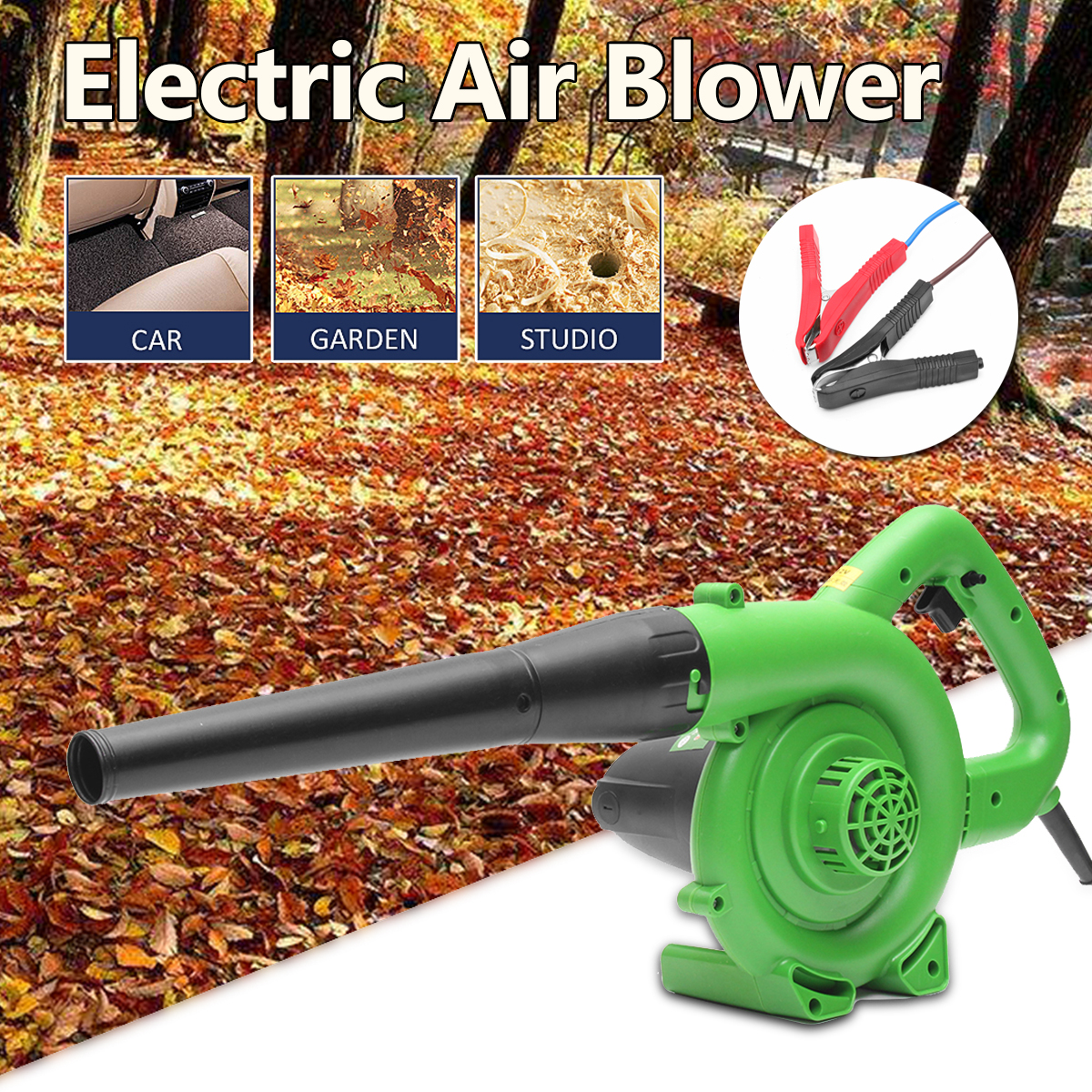 600/1200W Portable Multi-Tools Electric Air Blower Handheld Garden Leaf Collector Car Computer Cleaner Dust Air Blowing Cleaner air filter fits zenoah model eb700 new air cleaner cheap leaf blower parts