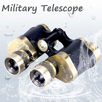 Professional Telescope spotting scope Russian Military Binoculars with Rangefinder Metal mini Monocular HD Lll Night Vision