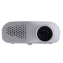 GP802A Мини Портативный СВЕТОДИОДНЫЙ Проектор 200 Люмен 480*320 Пикселей Контрастность 600: 1 с HDMI VGA USB AV TV SD Порт Для Домашнего Кинотеатра