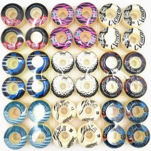 4pcs/Set Skateboard Wheels 50/