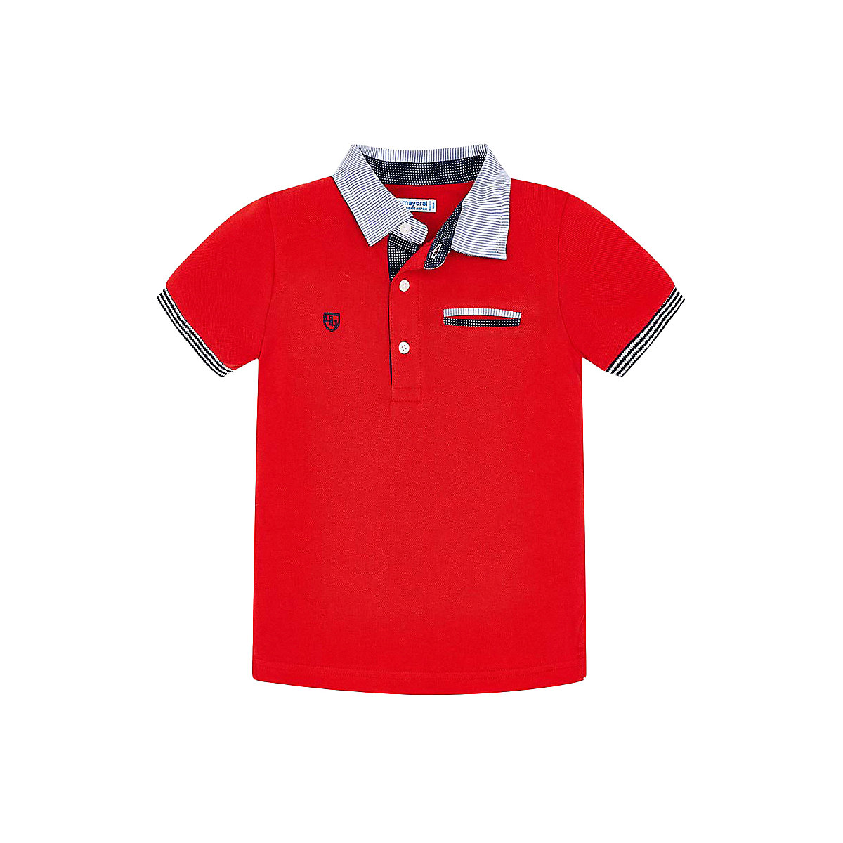 MAYORAL Polo Shirts 10691165 children clothing t-shirt shirt the print for boys tiger 3d print basic t shirt