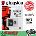 Kingston micro sd card memory card 4gb 8gb 16gb 32gb class 4 microsd cartao de memoria tarjeta micro sd carte tf wholesale lot