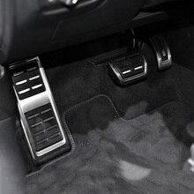 Педаль акселератора из нержавеющей стали с подставкой для ног, педаль газа для Volkswagen VW Passat B8 Variant Alltrack