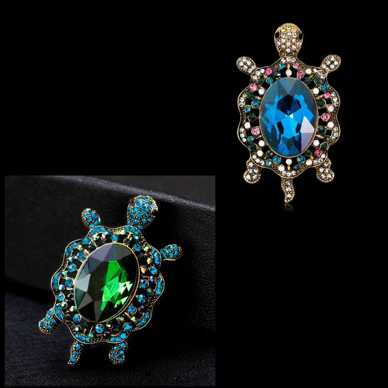 Большая черепаха брошка заколка медальон роскошные подарочные украшения женские модные новые KYY8821