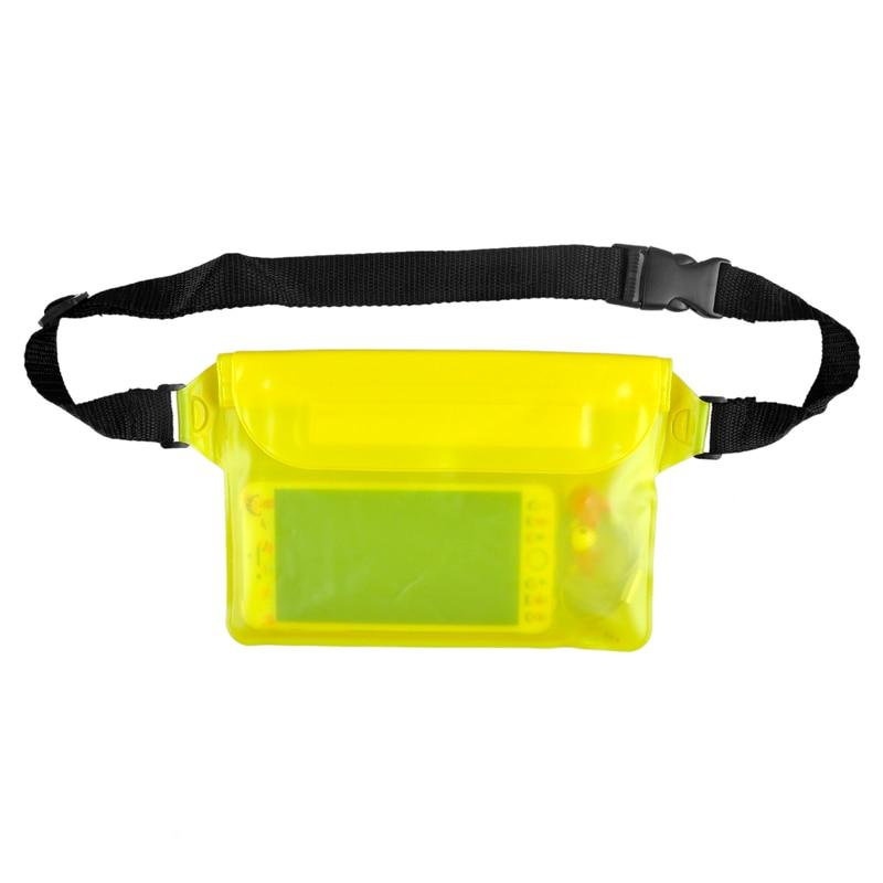 e4e5f8186019a Nueva playa buceo drifting Natación Pesca camping impermeable bolsa correa  de cintura para iPhone Cámara efectivo MP3 pasaporte documentos