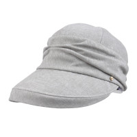 Women Bucket Hat Famous Brand Kenmont Hat Navy Blue Light Khaki Cotton Vocation Caps Outdoor Spring