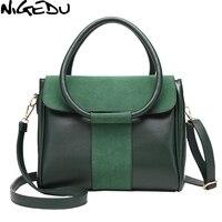 NIGEDU Brand Women Handbag High Quality Matte Skin Lady Totes Luxury Shoulder Messenger Bag For Women
