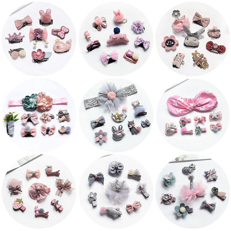 8 pz / lotto bambini neonate accessori per capelli clip perni di - Abbigliamento per neonato
