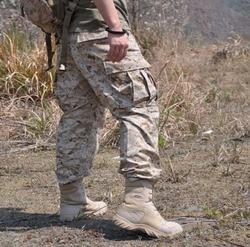 Военные тактические мужские брюки Emerson, тактические прочные военные армейские брюки-карго, повседневные камуфляжные брюки