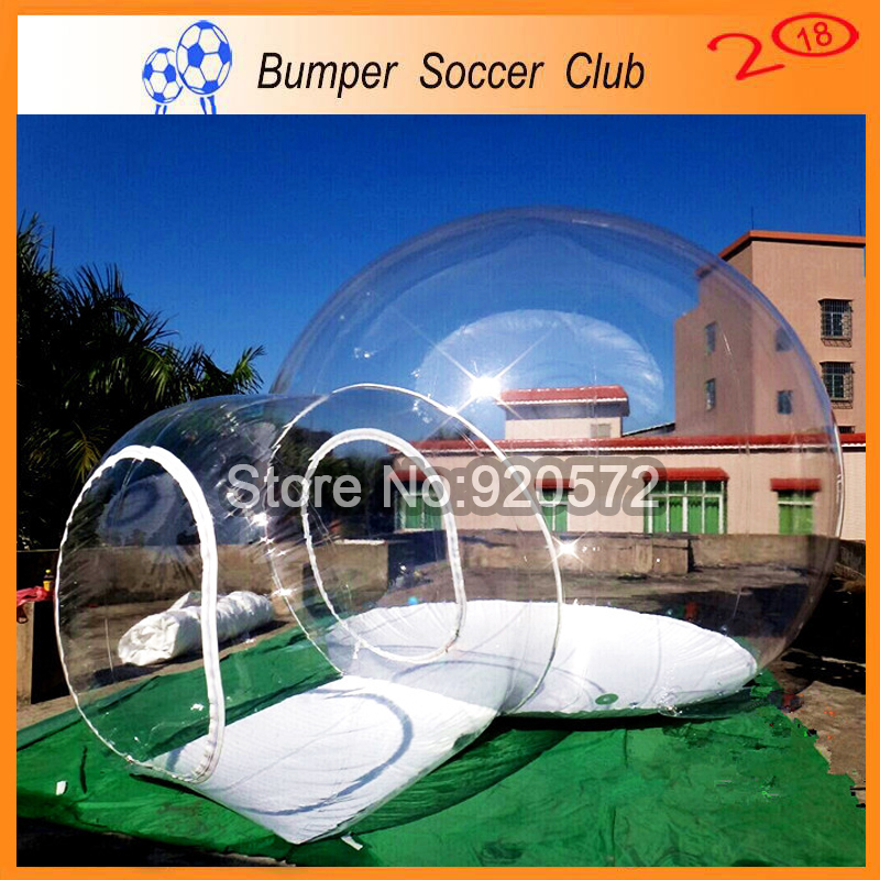 Free shipping! Free Pump ! Clear Inflatable Dome Tent Inflatable Bubble Tent Transparent Inflatable Tent For Outdoor Camping t053 free shipping by dhl giant large party event bubble camping air dome price camp inflatable houes tent with blower for sale page 2