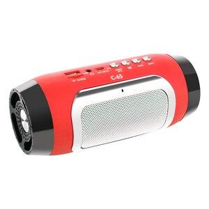Image 5 - TOPROAD HIFI Portable wireless Speaker Stereo Bluetooth Soundbar TF di FM Radio di Musica Colonna Subwoofer Altoparlanti per I Telefoni di Computer
