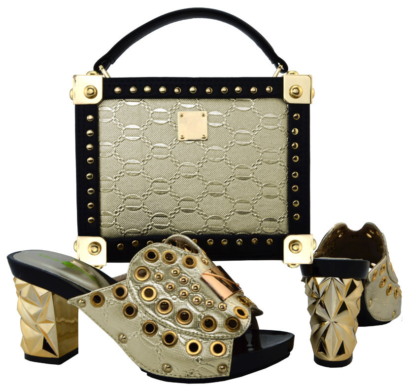 ФОТО Sexy Clutch Bag And Matching Shoes Italian Women Matching Shoe And Bags To Match Set For Party High Heels 38-43 Sizes BCH-21