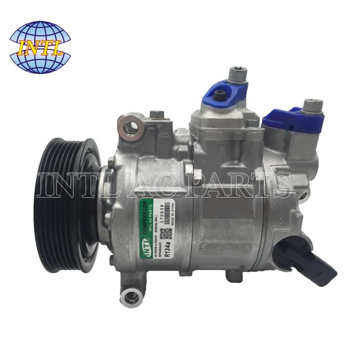 US $135 0  6SEU14C AC Compressor for Audi A3 A4 A5 A8 Q5 4F0260805AG  4F0260805N 447180 7720 447180 9500 147100 5580 8E0260805BA 8K0260805-in