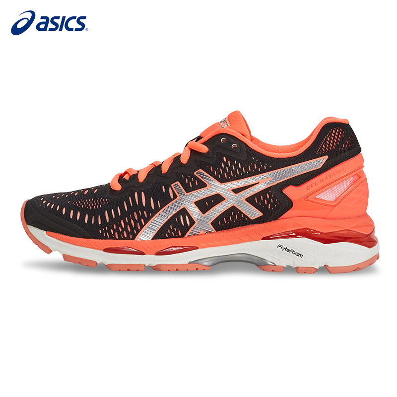 Original ASICS Women Shoes GEL-KAYANO 23 Breathable Cushion Running Shoes Light Weight Sports Shoes Sneakers