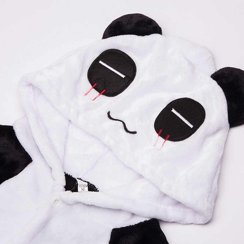Totoro Kigurumi Onesie Volwassen Dier Eenhoorn Pyjama Pak Warme Zachte Steek Nachtkleding Onepiece Winter Jumpsuit Pijama Cosplay