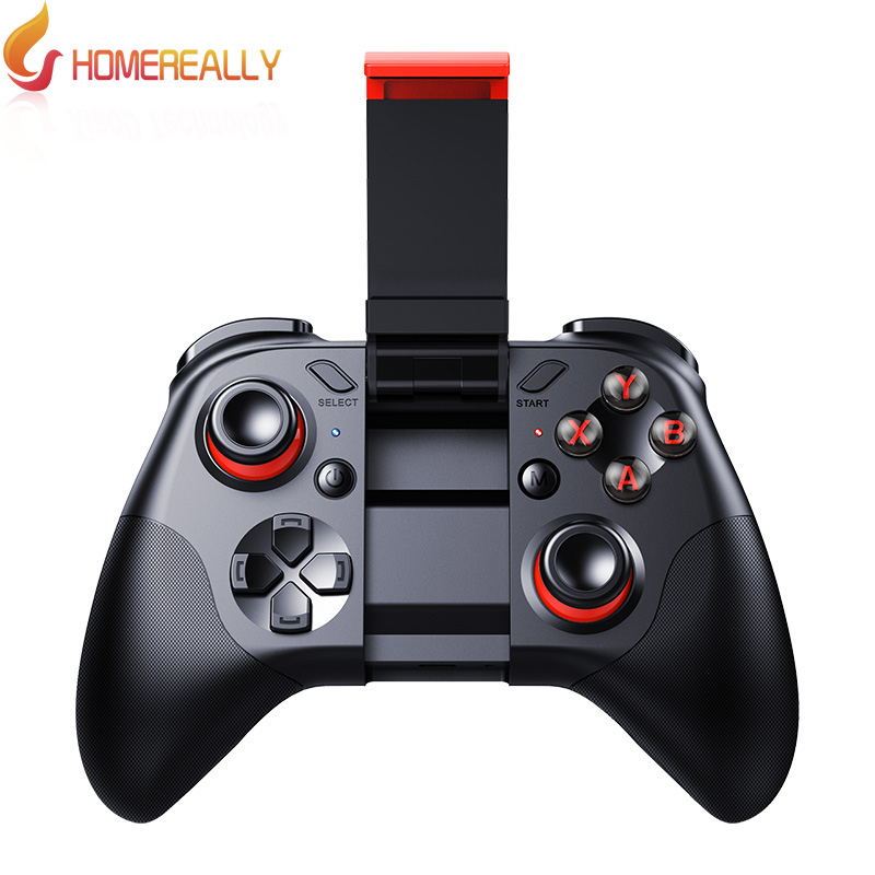 Mocute 054 Bluetooth Gamepad Crystal <font><b>Button</b></font> Android Joystick PC Wireless Remote Controller Game Pad for <font><b>Smartphone</b></font> For VR TV BOX
