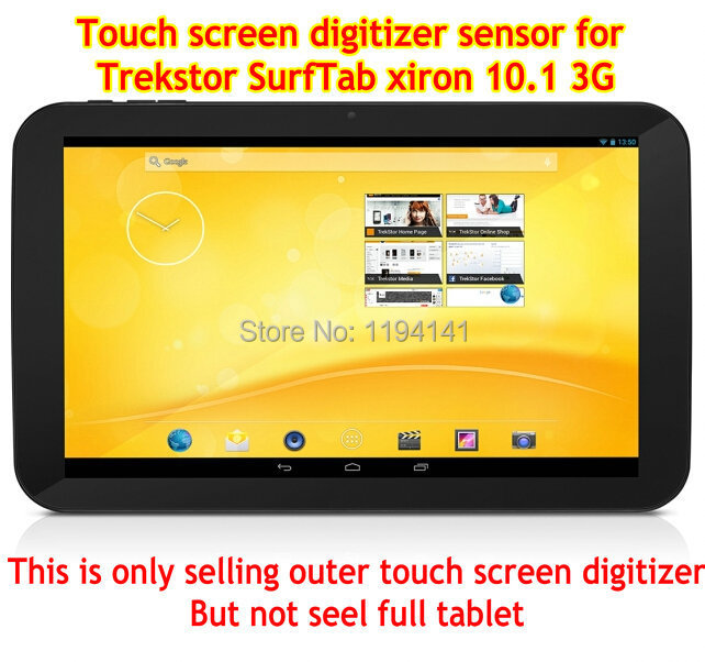 New touch screen For 10.1 inch Trekstor SurfTab xiron 10.1 3G Tablet touch panel digitizer glass replacement Free Shipping 10 1inch for trekstor surftab duo w1 wifi 3g lte tablet pc touch screen panel digitizer glass replacement