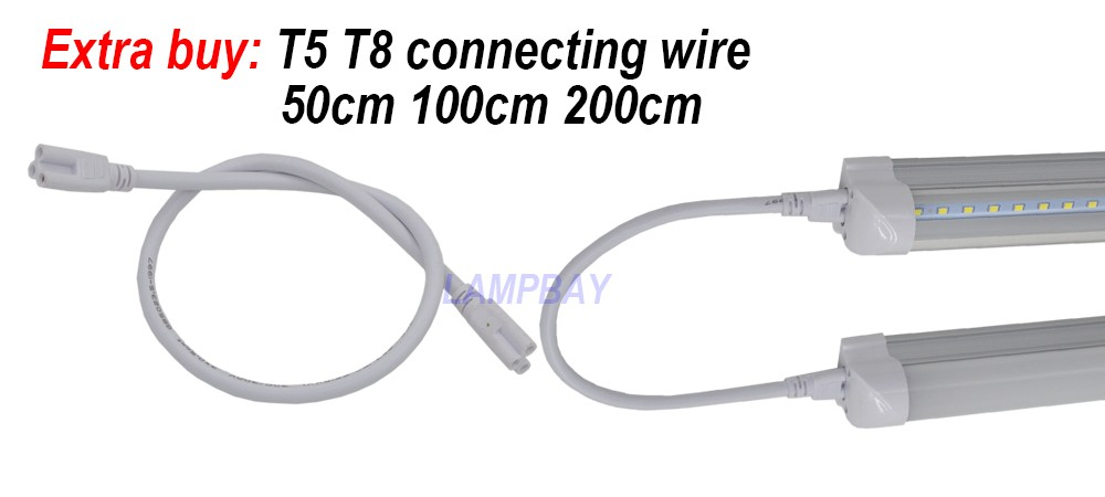4-100 pacote luzes do tubo do diodo