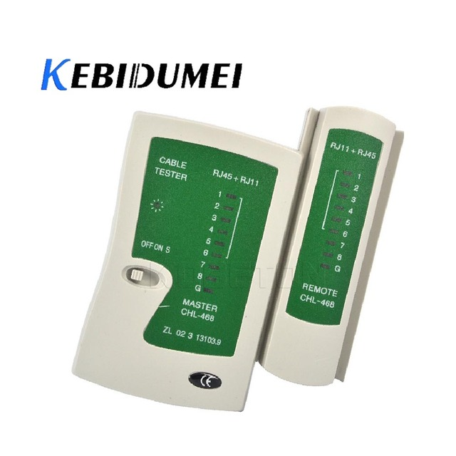 kebidumei Internet Ethernet Network LAN Cable Tester Tool Kit Phone