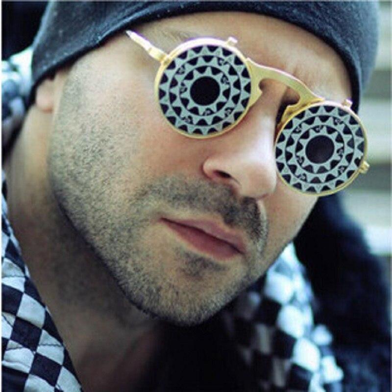 Circle Flip Up Sunglasses  online whole flip up sunglasses from china flip up