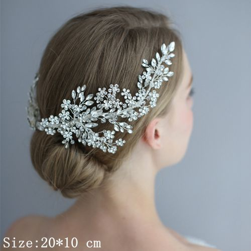 Rhinestone Headband Wedding...