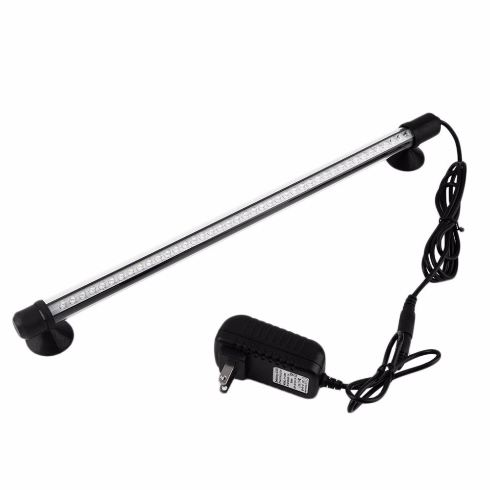 ICOCO Free shipping 1pcs LED Aquarium light with switch / underwater light / diving lamp L -18 LED cool white 18cm hot search digital indoor air quality carbon dioxide meter temperature rh humidity twa stel display 99 points made in taiwan co2 monitor