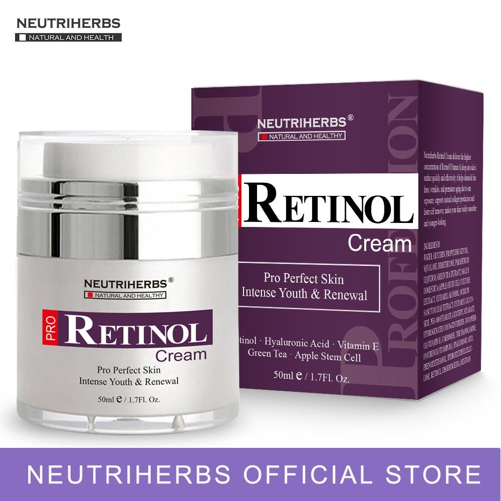 2.5% Retinol Moisturizer Face Cream Hyaluronic Acid Vitamin E Collagen Anti Aging Wrinkle Vitamin Smooth Whitening Cream 50ml