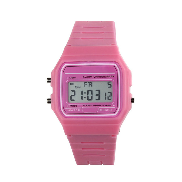 Digital Sports Watches LED for Children Boys Girls Unisex Colorful Electronic be