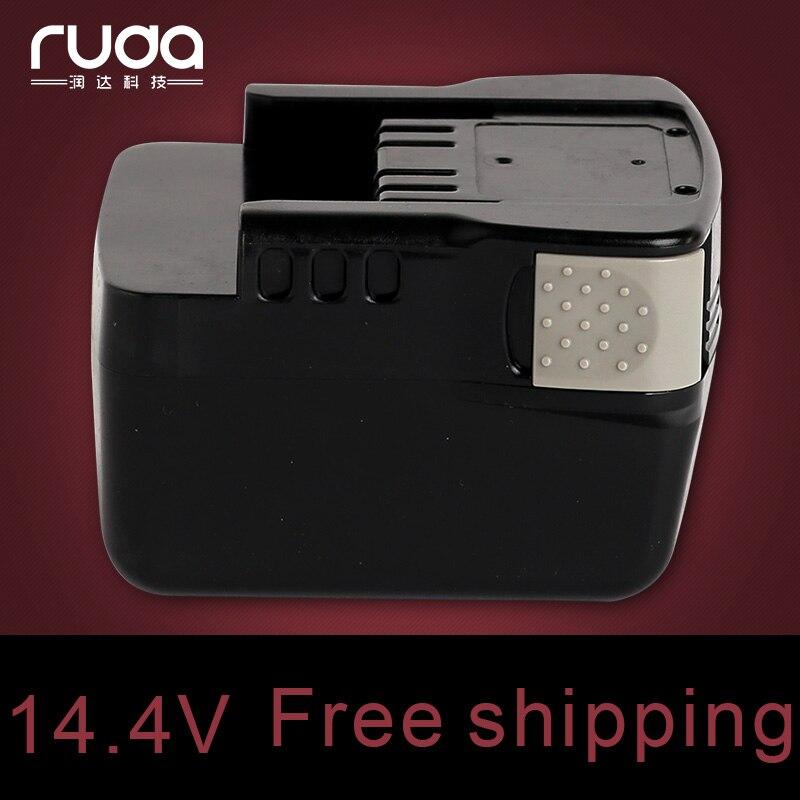 Pour Ryobi 14.4V 3000 mAh, batterie d'outil électrique Li-ion, B-1415L, B-1425L, B-1430L, BDM-143, BFL-140, BID-140, BID-1410, BID-1411, BID-142, BID-