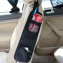 Auto Veranstalter Zurück Sitz Lagerung Tasche für Verstauen Aufräumen Auto Sitz Seite Tasche Hängen Tasche Taschen Nylon Kleinigkeiten Halter Auto  styling