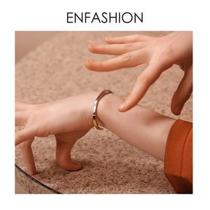 Image 5 - Enfashionシンプルなオープン女性の混合色のステンレス鋼ミニマ宝石友人ギフトBC192007
