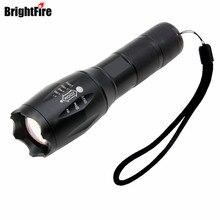 3800 люмен xml-t6 led фонарик 5 режима масштабируемые регулируемый фокус тактический фонарь для охоты велоспорт восхождение отдых на природе