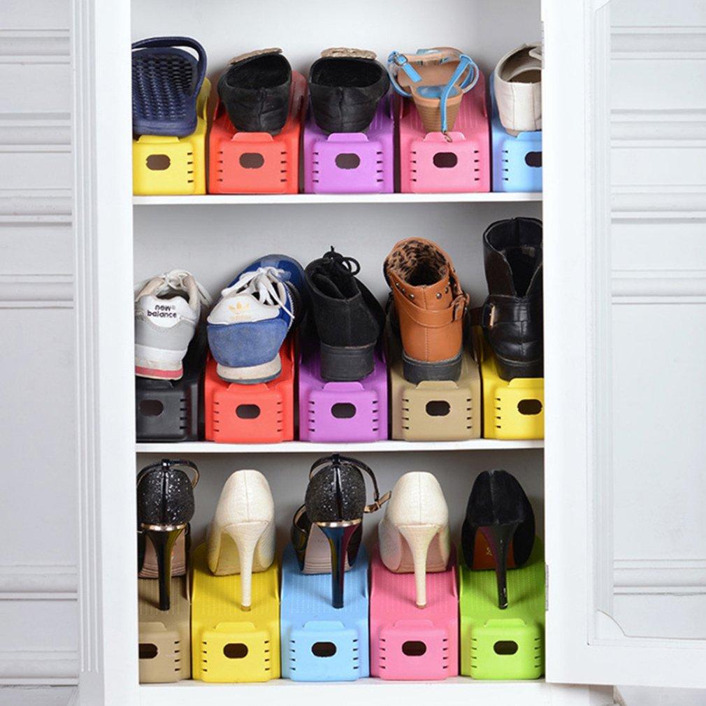 2018 Fashion Shoe Racks Modern Double Cleaning Storage Shoes Rack Living Room Convenient Shoebox Shoes Organizer Stand Shelf