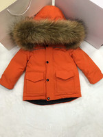 2018 Winter jacket child duck down jackets high end down jacket for boys and girls leisure solid color 85 145 cm