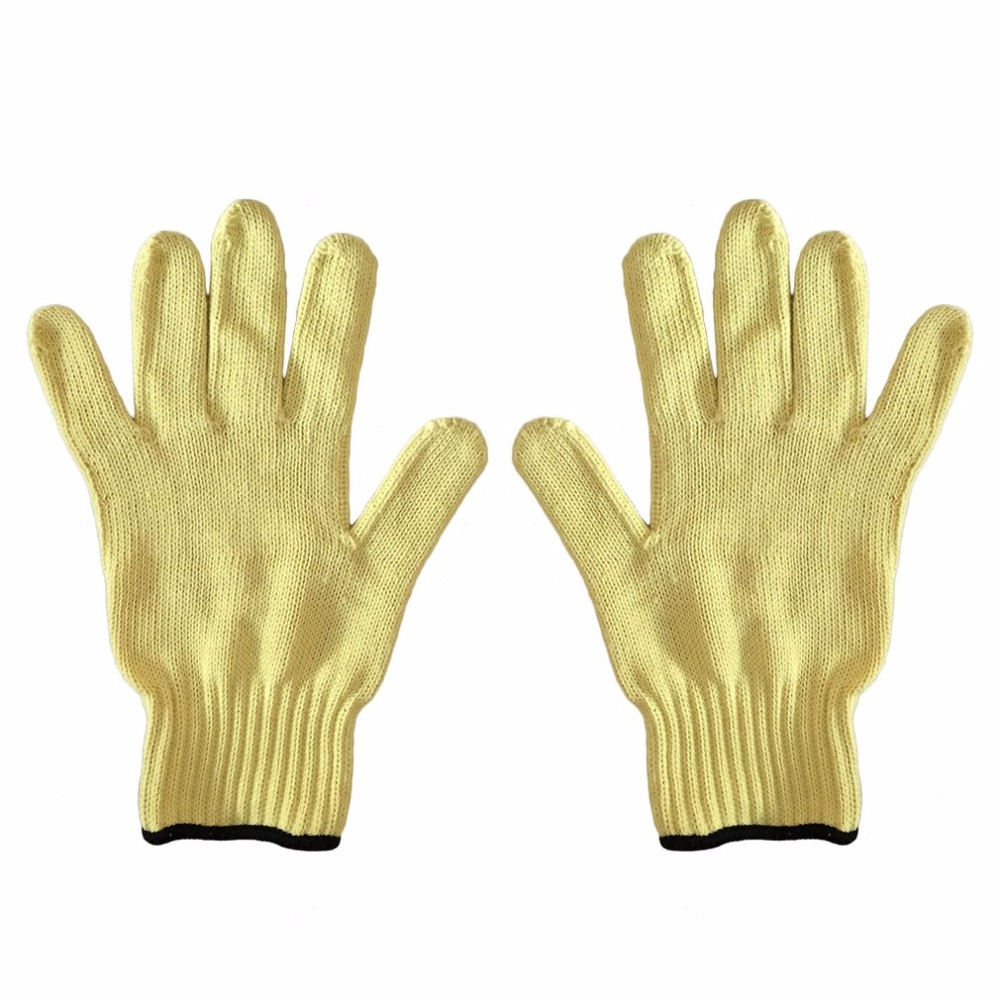 1 Pair of Working Gloves Anti-Cut Wear-Resistant Safety Gloves Anti Abrasion Gardening Gloves Labor Protective Gloves high quality cut proof labor gloves breathable protective gloves 1 pair wear resistant anti slip nitrile coating knitted gloves