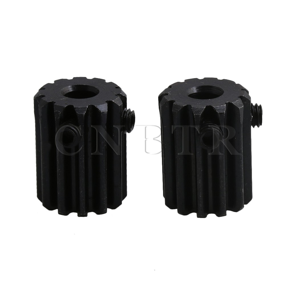 CNBTR 1 Modulus 12 Teeth 45 Steel Motor Metal Steel Gear Wheel Top Screws 5mm Hole Black Pack Of 2 electric pottery furnace tea pot 4 file mute mini knob control tea hot water boiler black microlite panel stove boiling machine