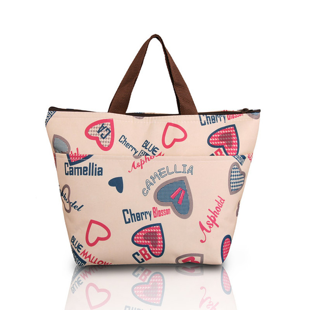 69144c32bcb0 US $12.8 |Retail small thermal bags cooler for children flower star picnic  lunch bags for women boxes food handbag insulated many colors-in Lunch Bags  ...