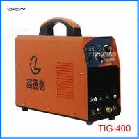 TIG 400 месте сварщиков Многофункциональный инвертор TIG Alumnium маленький сварочный аппарат 110 500 В применимо электрода диаметр 1,6 4,0