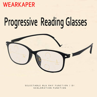 3034020a02 WEARKAPER Multi Focal TR Portable Progressive Reading Glasses Men  Presbyopic Diopter Eyeglasses Male Eyewear 1 0