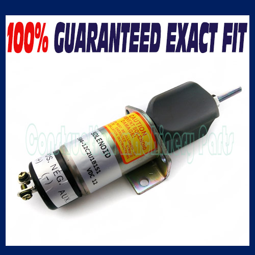 Fit for Synchro Start Electric Fuel Shut-Down Solenoid 1504-12C2U1B1S1 12 VDC 1502es 12c2u1b1s1 for solenoid 1500 1008 12v 1502es