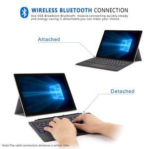 Image 4 - ワイヤレスbluetoothキーボードマイクロソフト表面プロ6 2018プロ5 2017プロ4プロ3 bluetoothキーボードタブレットキーボード