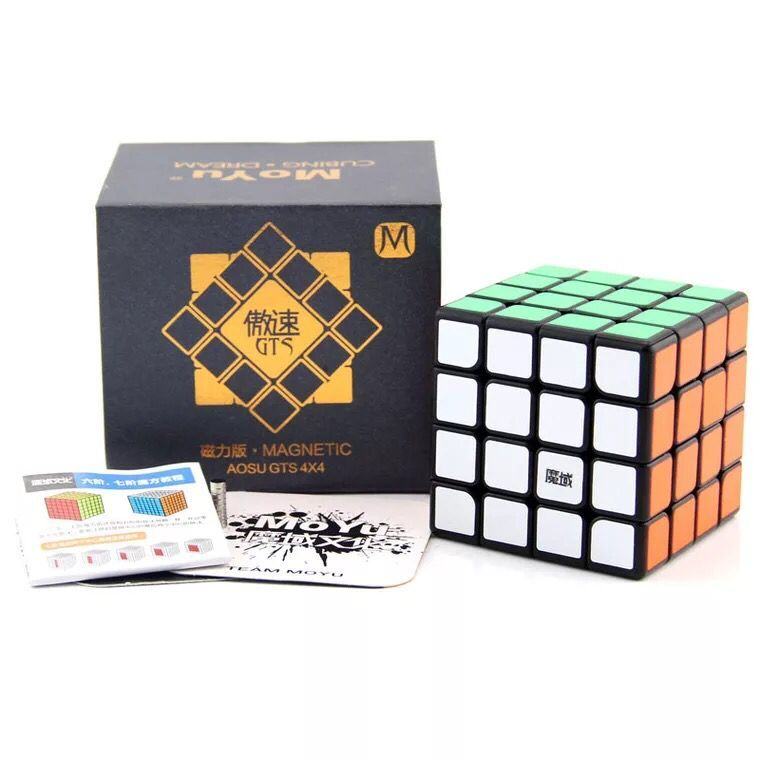 Moyu Aosu Gts Magnetic 62mm 4x4x4 Black Aosu Gts M Speed Magic Cube Puzzle Educational Special Toys Moyu Aosu 4x4 Famous For Selected Materials Novel Designs Delightful Colors And Exquisite Workmanship