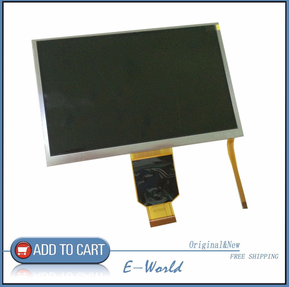 Original 7inch LCD Screen LMS700KF05-104 LMS700KF05 Not With Touch Free Shipping