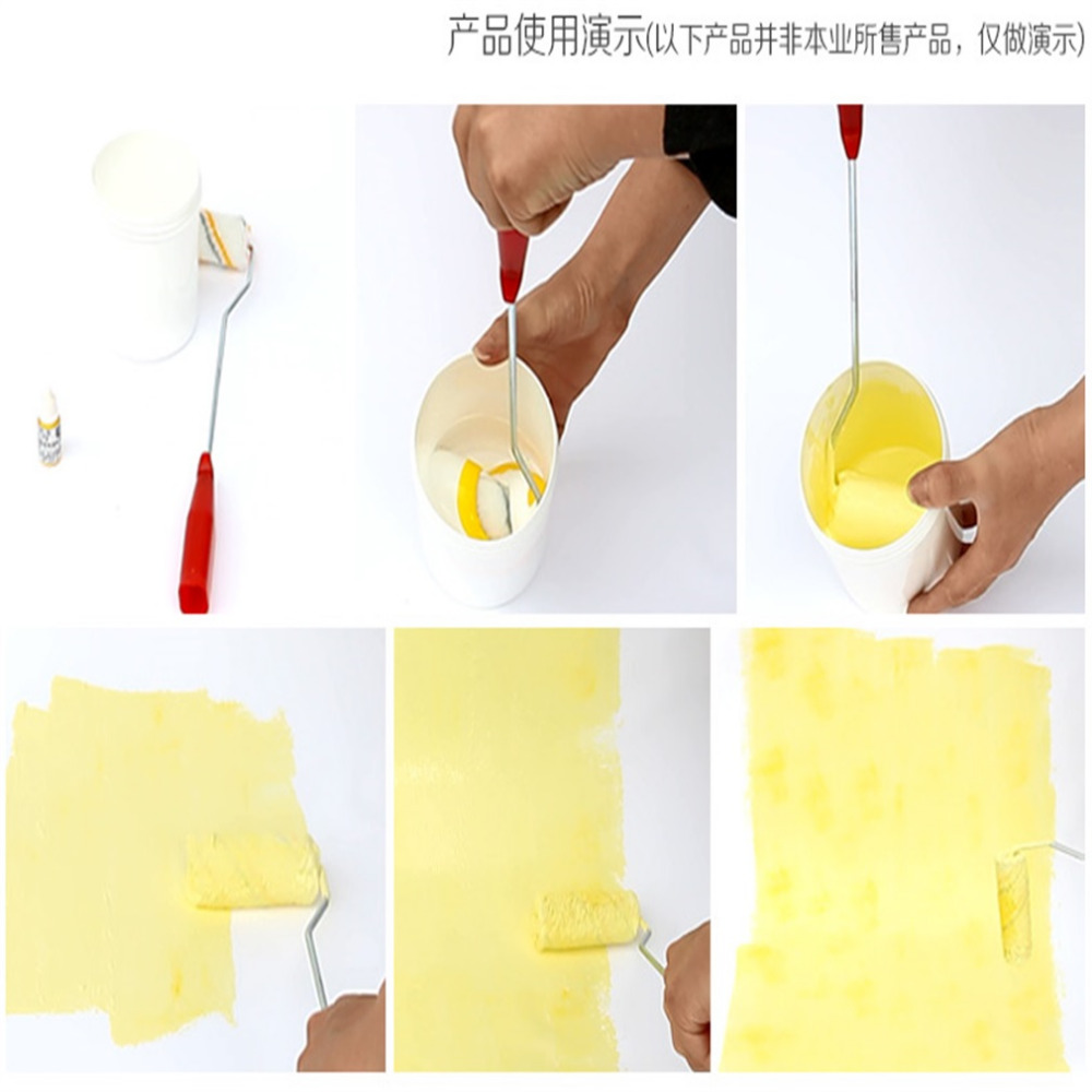 New Paint Roller and Tray Set Painting Brush Point N Paint Household ...
