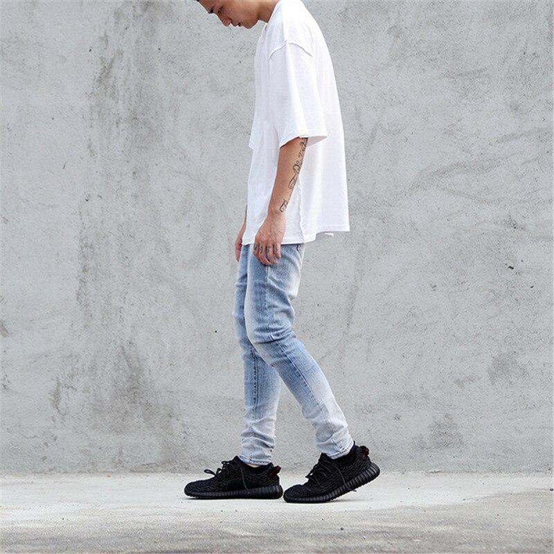 New Arrival High Street Design Mens Stretch Cotton Hip Hop Vintage Light  Blue Skinny Jeans Justin - Online Get Cheap Blue Stretch Skinny Jeans -Aliexpress.com