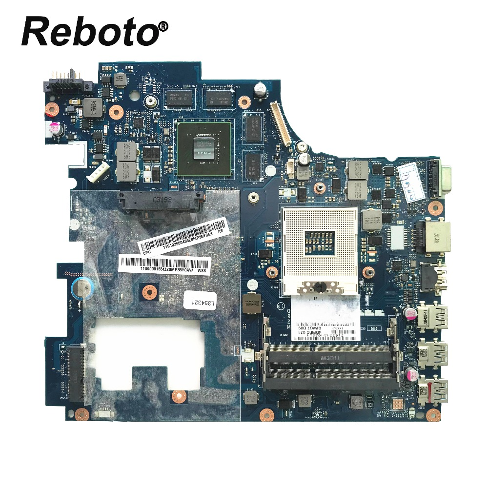 High quality FOR Lenovo G780 Laptop motherboard 90001554 HM76 GT635M 2GB GPU QIWG7 LA 7983P DDR3