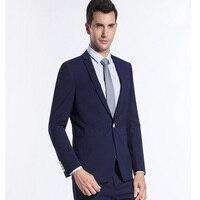 Königsblau Männer Anzug Klassischen Anzug Slim Fit für Männer Bräutigam Abend Business Prom Partei Anzüge 2 Stück (jacke + Pants)
