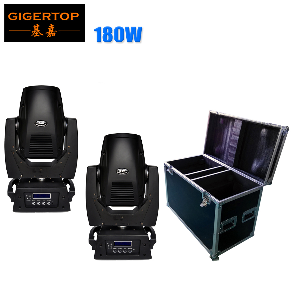 2IN1 Flightcase Pack 180W Sharpy Beam Moving Head Stage Light Super Bright LED Stage Light for DJ Disco with Ce RoHS Gobo/Color php srl коврик придверный соломка 40x68 см csfihth