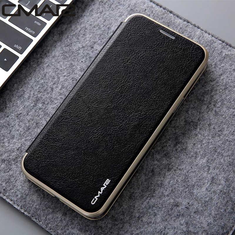 S10 Plus étui en cuir portefeuille à rabat magnétique housse en cuir pour Samsung Galaxy S7 Edge S8 s9 S10 Plus S10e Note 8 Note 9 Note 10